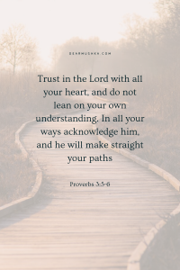 PATH · PROVERBS 3_5-6
